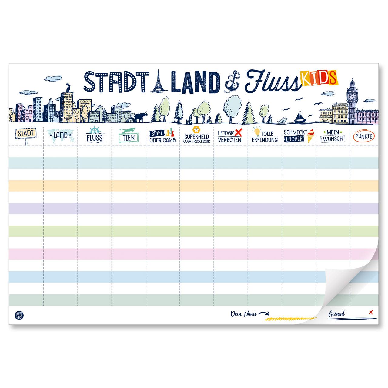 Stadt Land Fluss Online Wortspiel